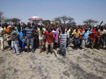 Sudáfrica Amplats en huelga - Reuters