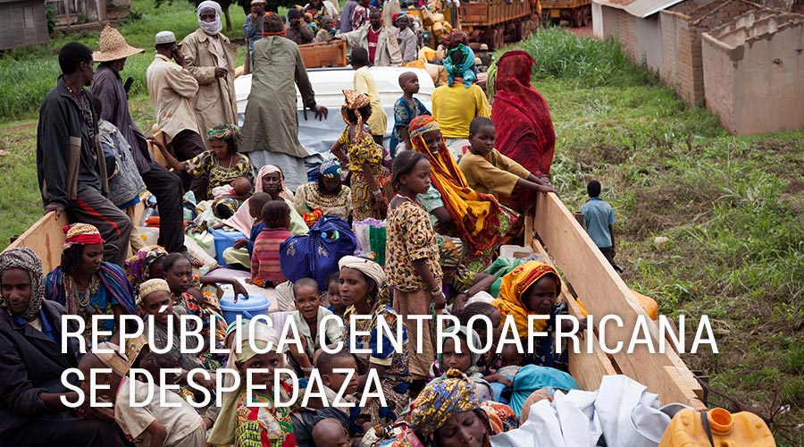 Dossiers República centroafricana se despedaza