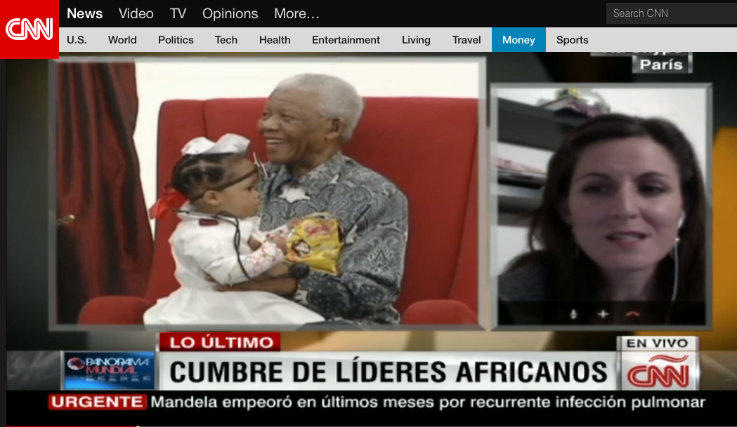 CNN Mandela Paris
