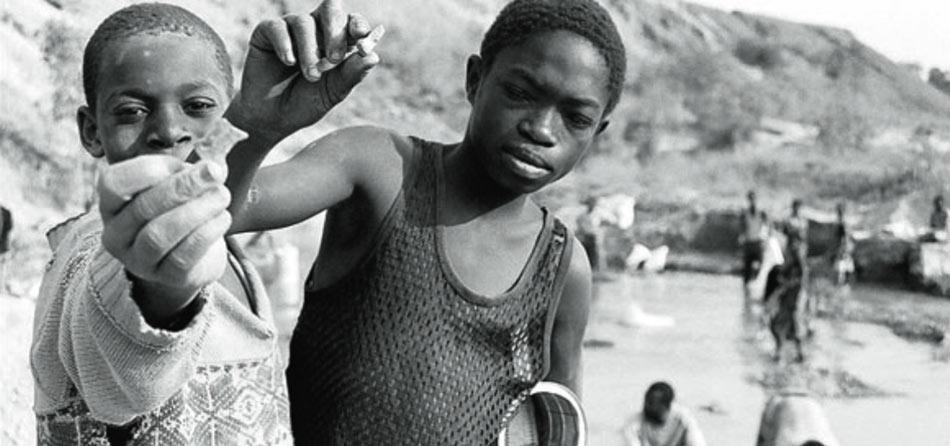 Los niños mineros de Kolwezi, Congo