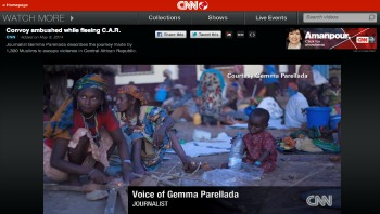 Convoy ambushed while fleeing Central African Republic